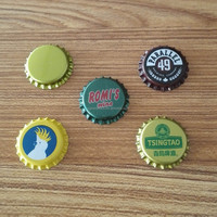 Beer bottle crown cap