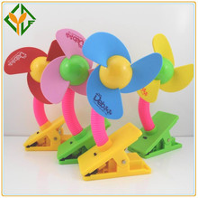 Mejor venta de usb ventilador clip, colorful clip ventilador