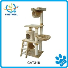 Popular Cat Scratcher Tree with Ladder, Hammock etc.