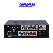 professional audio power amplifier LED VDF USB