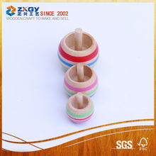 Japan wooden spinning top