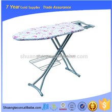 Popular design Multi - functional Stainless Steel adjustable iron board/mini folding ironing board/cover
