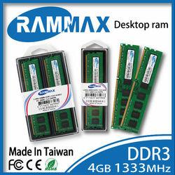 High quality Desktop PC DDR3 ram 4gb Lo-dimm 1333MHz PC3-10600 1333/1600 speed memory sticks for desktop