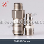 ZJ-202B quick connect stainless steel garden hose fittings