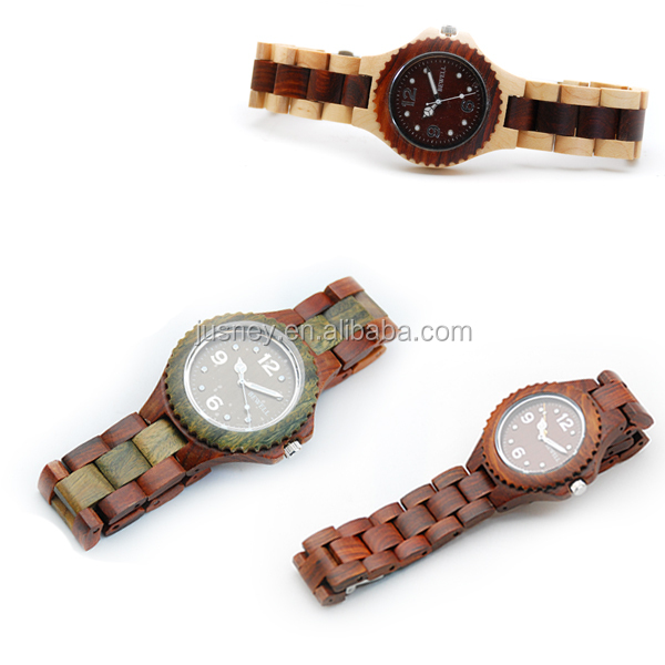 Popular Women Watches/Real Wooden Wrist Watches For Women