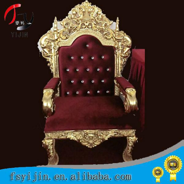 Romantic wedding king chairs for sale