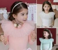 Wholesale Custom Plain Cotton Kid Girl T Shirts Manufacturers Clothes