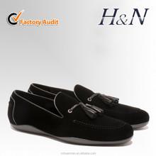 Men tassel designer flat loafer shoes