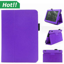 """New PU Leather Folio Flip Stand Case Cover For Amazon Kindle Fire HDX 7 & 8.9 & HD 7"""""""