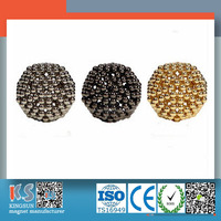 Best Seller Professional Customized Security High Quality Strong 3mm Ball Ndfeb Magnet With ISO Approved