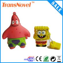 Cartoon character usb flash drive,cute cartoon 8gb usb flash drive bulk 1g 2g 4g 8g 16g 32g