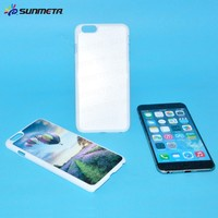 Blank phone case with aluminum sheet for IPHONE6 plus for sublimation printing