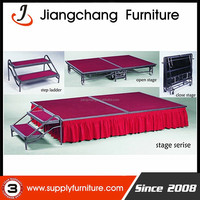 Folding Heave Duty Mobile Dance Stage