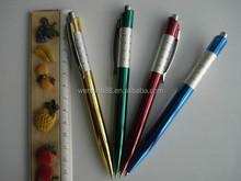 2015 New Project Custom logo shiny ballpoint pen for gift