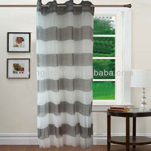 franja horizontal de lujo cortinas y cortinas