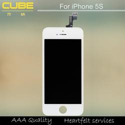 Canton fair& alibaba trade assurance supplier 100% warranty wholesale factory mobile phone screen for iphone 5s
