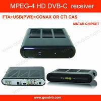 2013 sky box MPEG4 HD DVB-C FTA USB(PVR) CONAX CAS