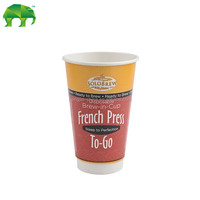 double wall coffee paper cups paper tea cup hot drinking cup