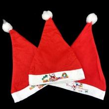 100% Polyester Felt Christmas Hat Santa Caps/Santa Ball Cap