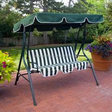Popular 3 seats swing chair.Durable Garden Swing,