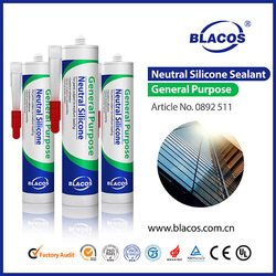 Clear, Grey, Black RTV Silicone Rubber For Indoor and Outdoor Joint Sealing