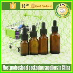 glass perfume bottles/european clear/amber/blue glass argan oil bottles 15ml child/tamper proof cap factory