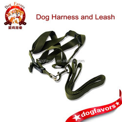 Manufacturers supply pet supplies pet pet nylon harness with leash pet leashes Harnesses