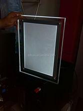 crystal light box led poster frame A2