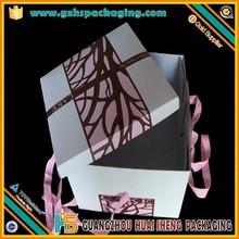 Coated paper cake box packing box promotional box