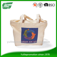 eco friendly custom logo cotton canvas tote bag for promotion