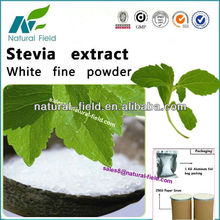 Supplying stevia leaf extract stevioside 90%95%with competitive price,
