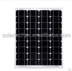 50W Monocrystalline Solar Panel solar module