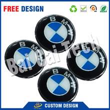 custom full color logo advertising Weatherproof strong adhesive 3d Crystal clear resin epoxy 3d dome decals