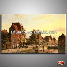 Beautiful Dutch scenery painting pictures