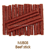 free additive beef stick for pet food dog treat dog snack natural beef meat treats