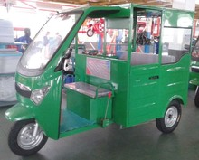 electric tricycle with driving cab electro-tricycle closed cabin