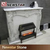 Newstar stone decorative fireplace mantles