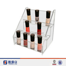 Best selling acrylic display stand cosmetic display for nail polish