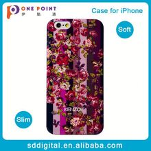 fragrance floral tpu back cover
