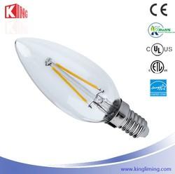 Factory Supply E14 E12 Natural White 4000K~4500K 110V/220V AC Incandescent Bulb
