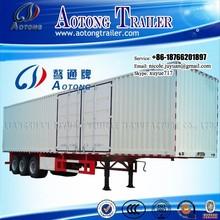 Hot selling in Africa market van type heavy duty semi trailer 35-40tons trucks for sale