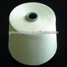 Primas 30/1 100% blanco anillo de hilado de poliéster hilado