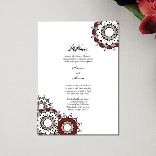 Muslim acrylic wedding invitation card arabic buy invitation card muslim acrylic wedding invitation card arabicg stopboris Images