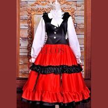 Hetalia Hungary Elizaveta National Dress Cosplay Costume