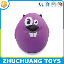 funny fat jelly bean plastic custom lock coin bank with key