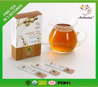 High Quality China Yellow Ginger Tea
