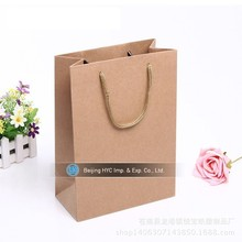 OEM/ODM Custom LOGO Printed gife Shopping Tote Paper Bag