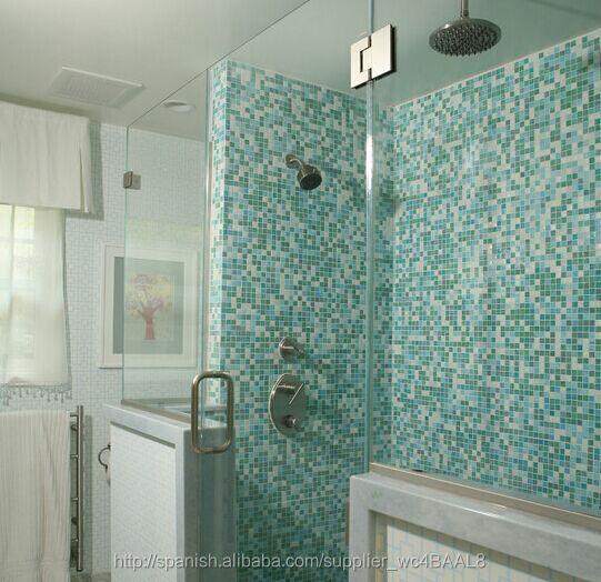 El Baño Barato | Antideslizante Mosaico De Delfines Vidrio Mosaicos Para El Bano De