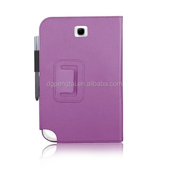 Galaxy Note 8.0 Leather Case for Samsung with Card Slot and Pen Slot