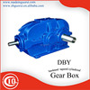 Zibo Boshan GVORVI DBY industrial gear box / tapered cylindrical gear reducer